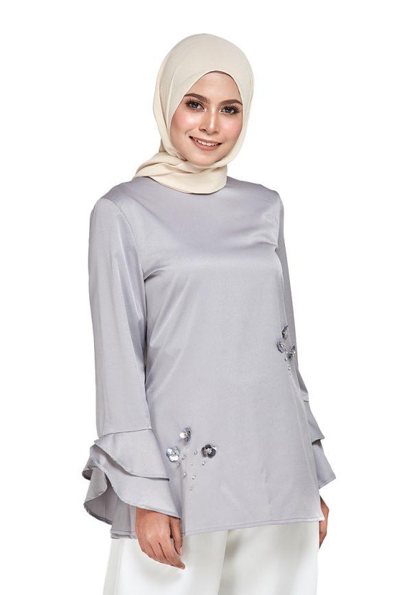 Mim Blouse Grey (3)