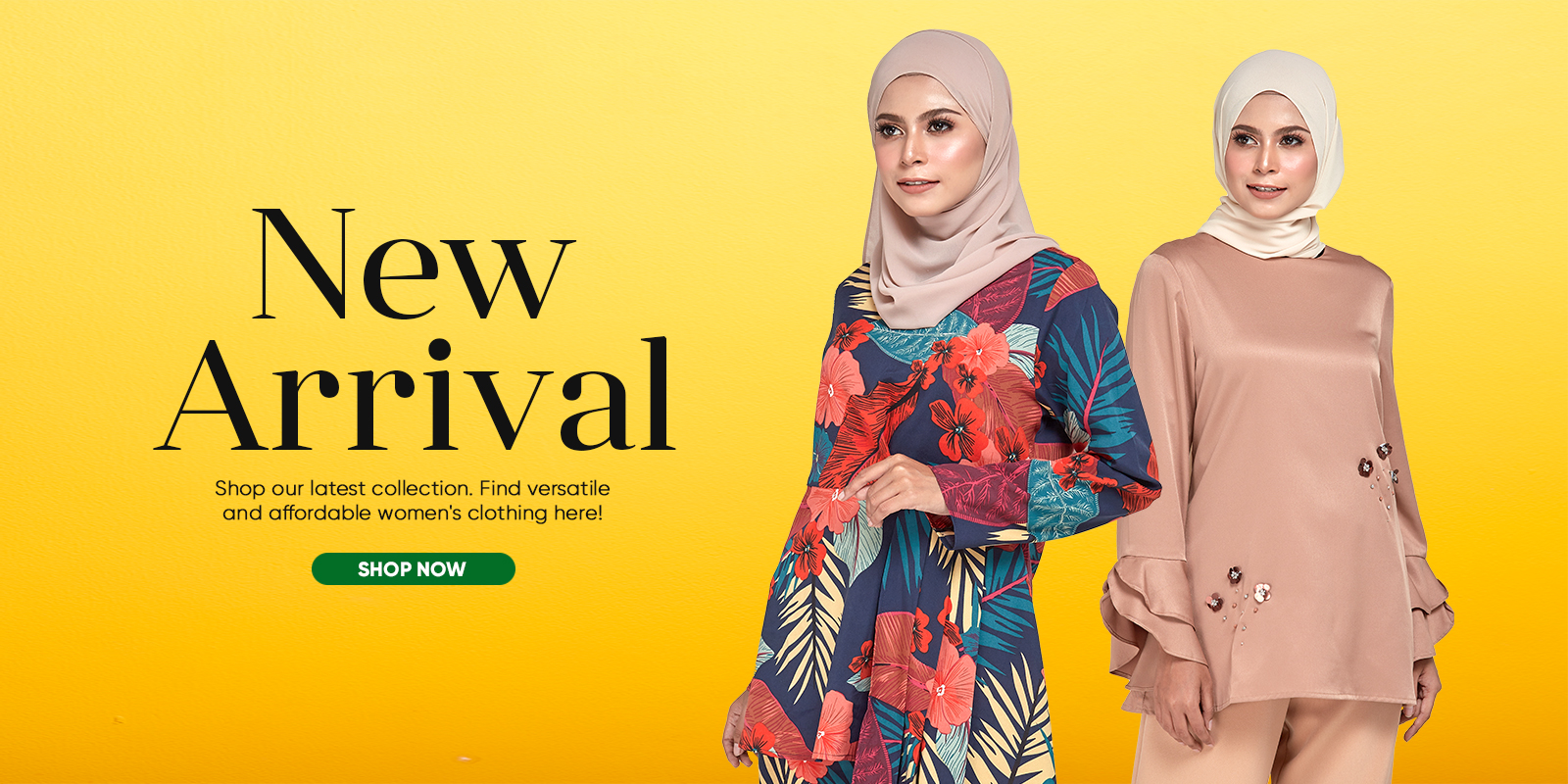 New Arrival Web Banner