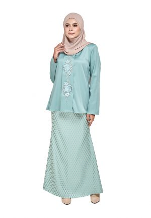 Zara Kurung Green (3)