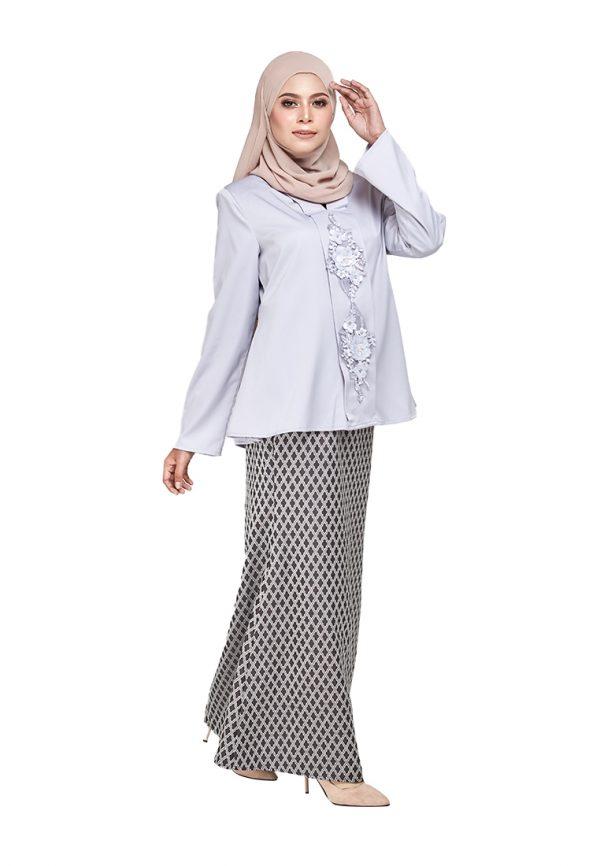 Zara Kurung Grey (3)(1)