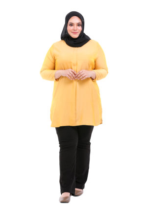 Dacla Blouse Plus Yellow (1)