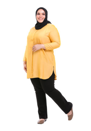 Dacla Blouse Plus Yellow (5)