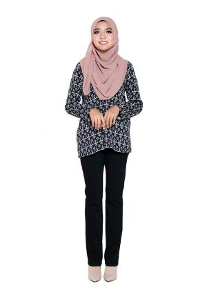Hanya Blouse Black 1