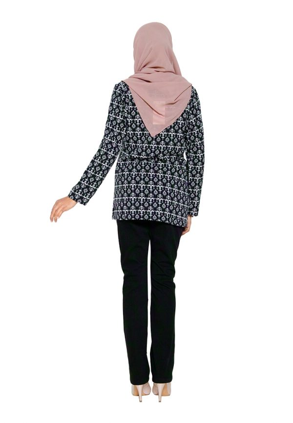 Hanya Blouse Black 2