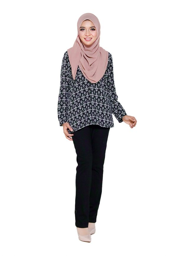Hanya Blouse Black 3