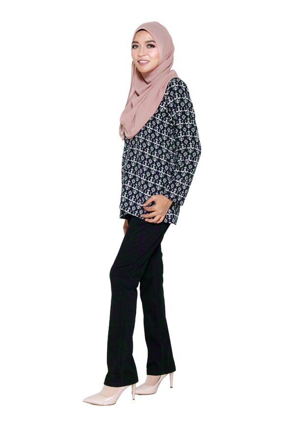 Hanya Blouse Black 4