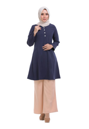 Melati Blouse Blue (3)