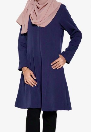 Melati Blouse Navy 1