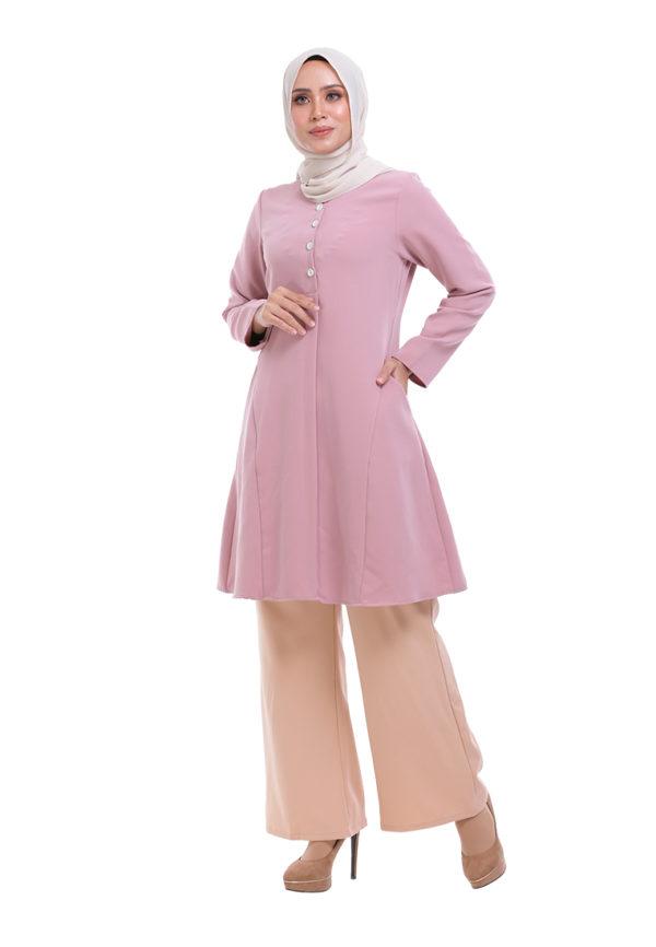 Melati Blouse Pink (1)