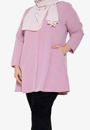 Melati Blouse Plus Pink 1