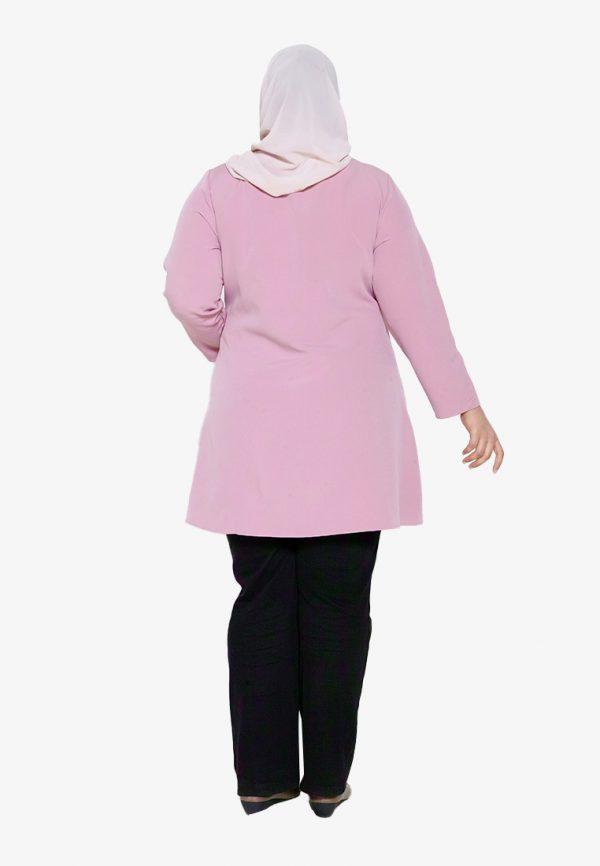 Melati Blouse Plus Pink 2