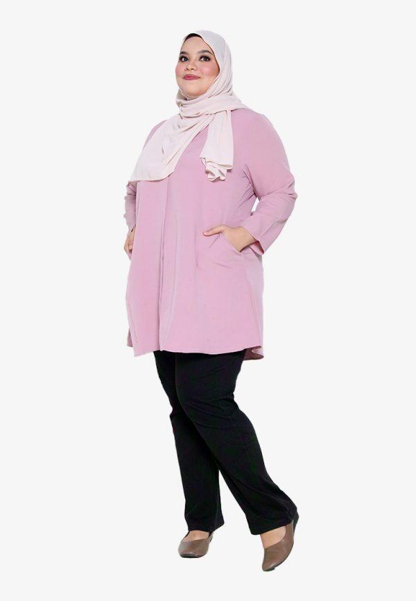 Melati Blouse Plus Pink 3