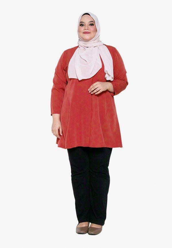 Melati Blouse Plus Red 4