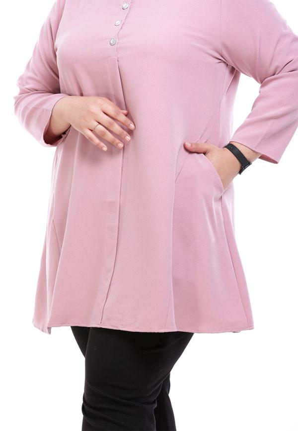 Melati Blouse Plus Pink (1)