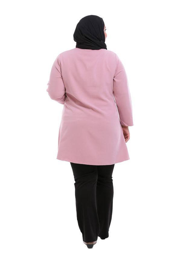 Melati Blouse Plus Pink (4)