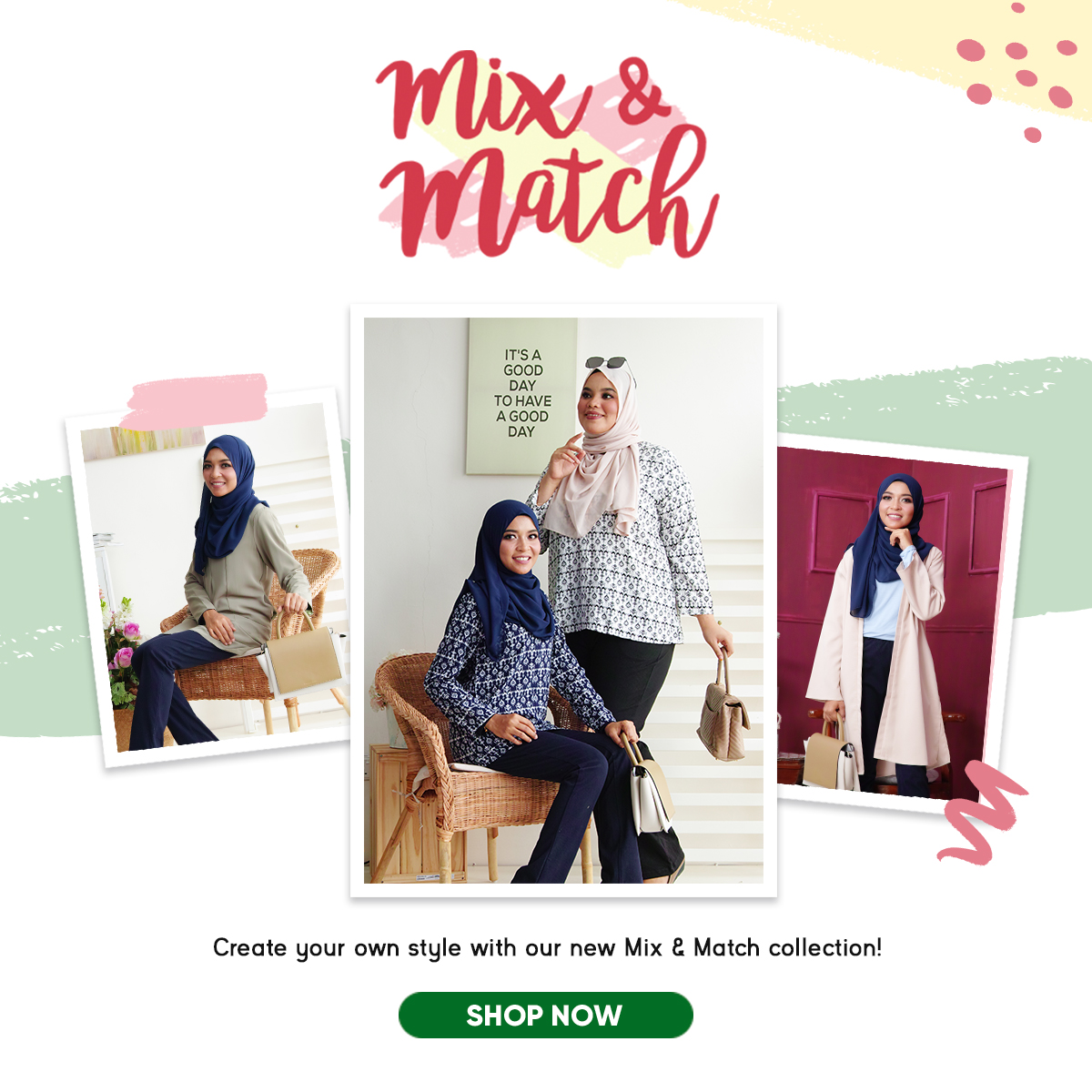 Mix N Match Mobile Banner