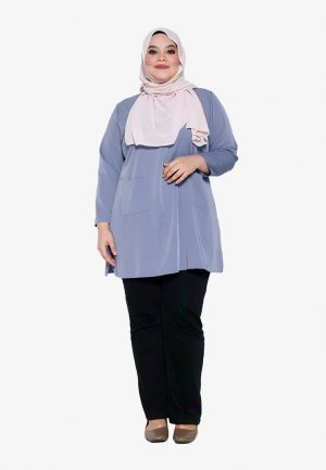 Natalia Blouse Plus Blue 2