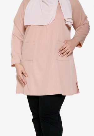 Natalia Blouse Plus Cream 2