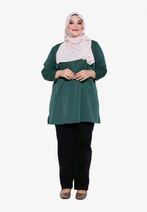 Natalia Blouse Plus Green 1