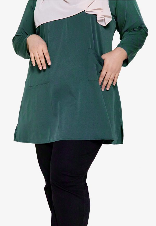 Natalia Blouse Plus Green 4