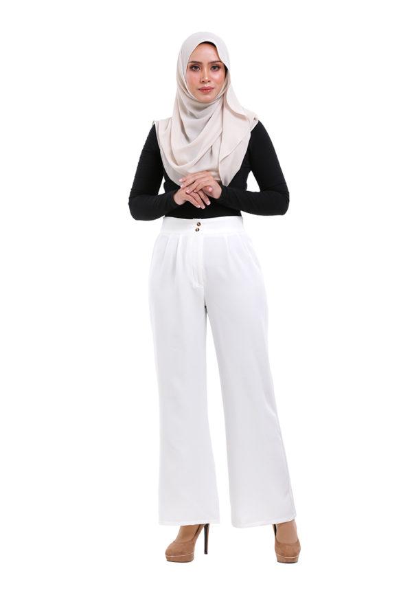 Royal Long Pants White (1)