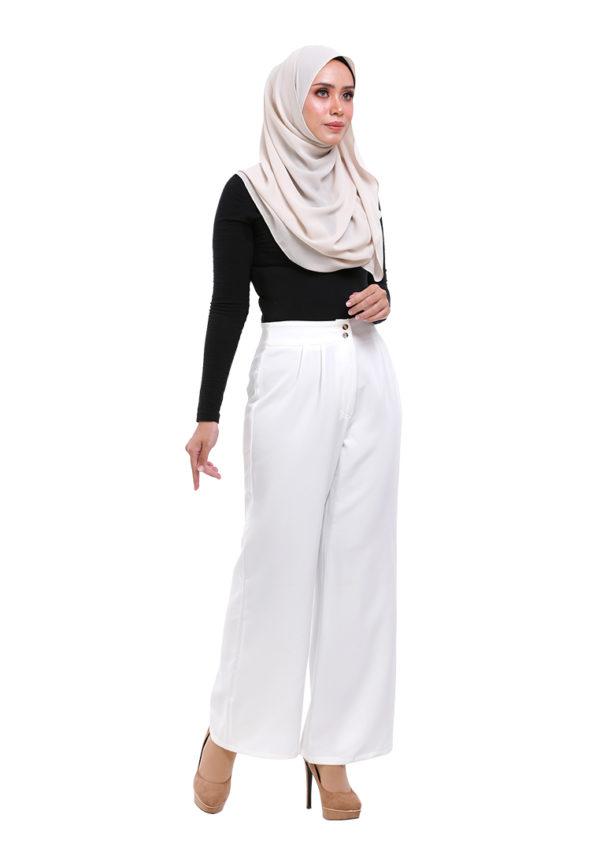 Royal Long Pants White (2)