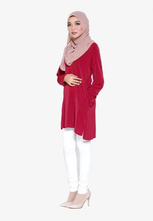Vivan Blouse Red 4