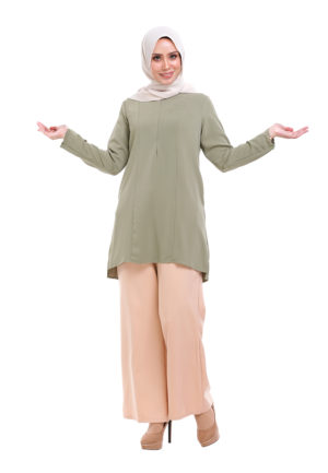 Vivan Blouse Green (4)