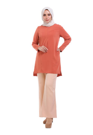 Vivan Blouse Orange (1)