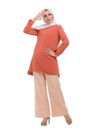 Vivan Blouse Orange (4)