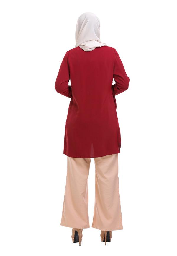 Vivan Blouse Red (5)