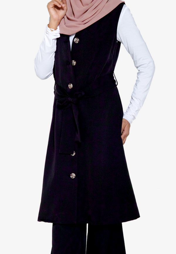 Yukil Cardigan Black 3