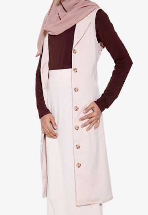 Yukil Cardigan Brown 3