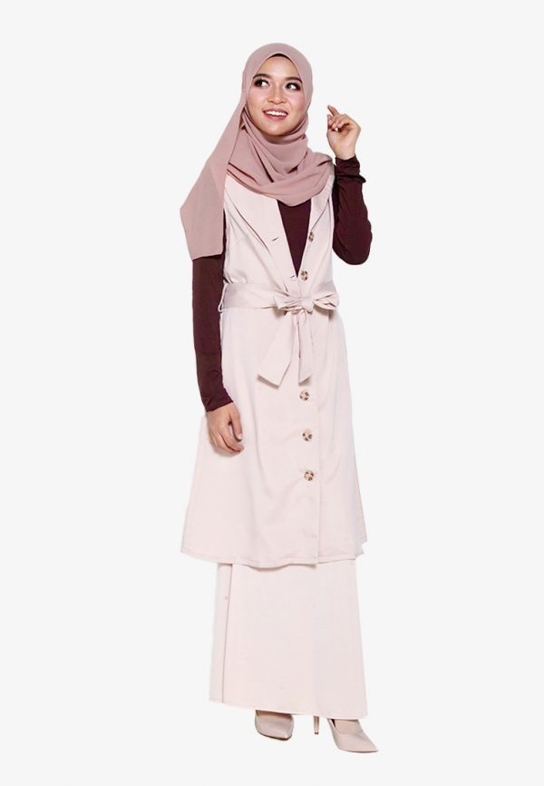 Yukil Cardigan Brown 4