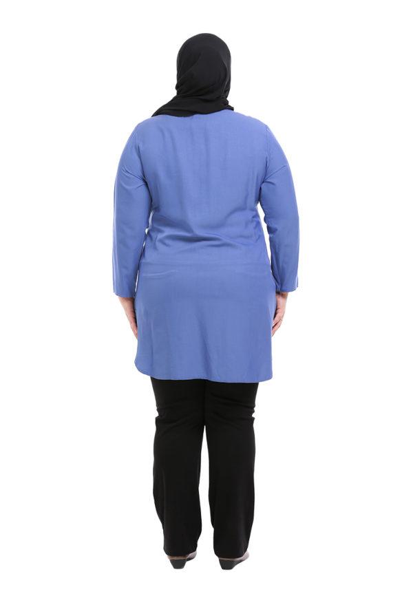 Dacla Blouse Plus Blue (4)