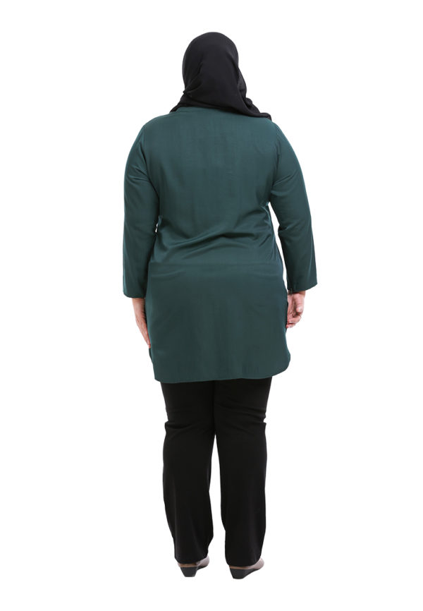 Dacla Blouse Plus Green (4)
