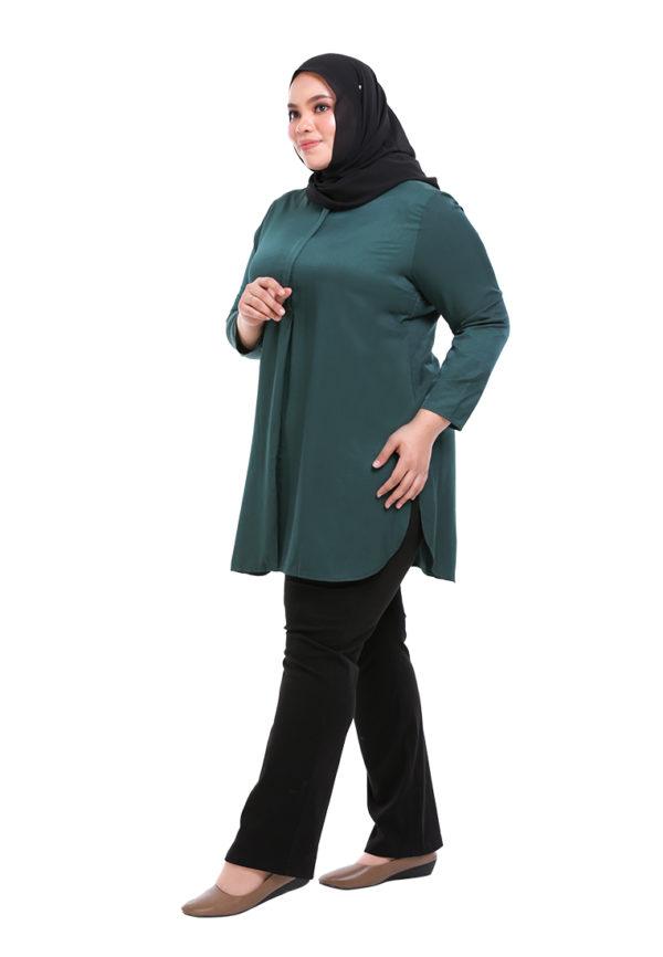 Dacla Blouse Plus Green (5)
