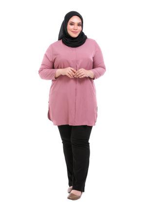 Dacla Blouse Plus Pink (1)