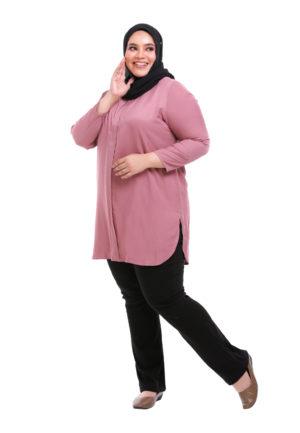 Dacla Blouse Plus Pink (5)