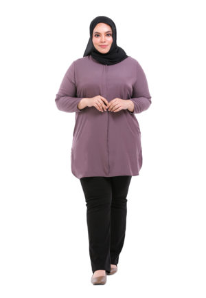 Dacla Blouse Plus Purple (1)