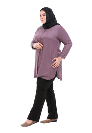 Dacla Blouse Plus Purple (5)