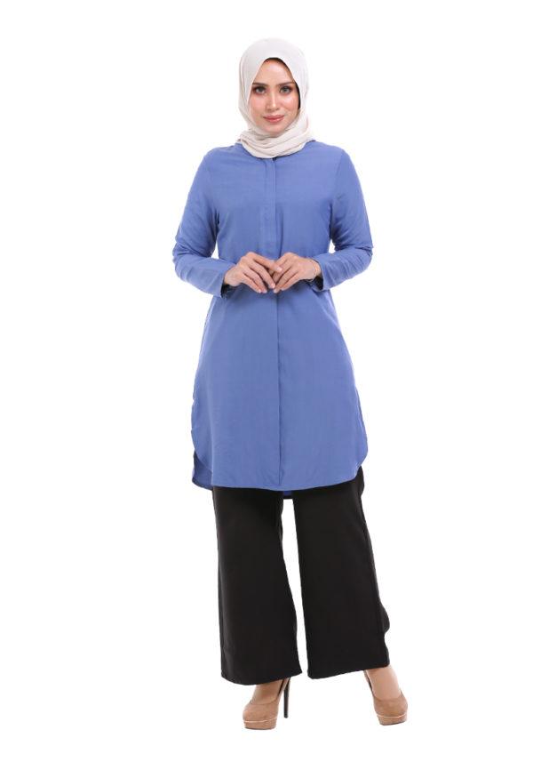 Dacla Blouse Blue (1)