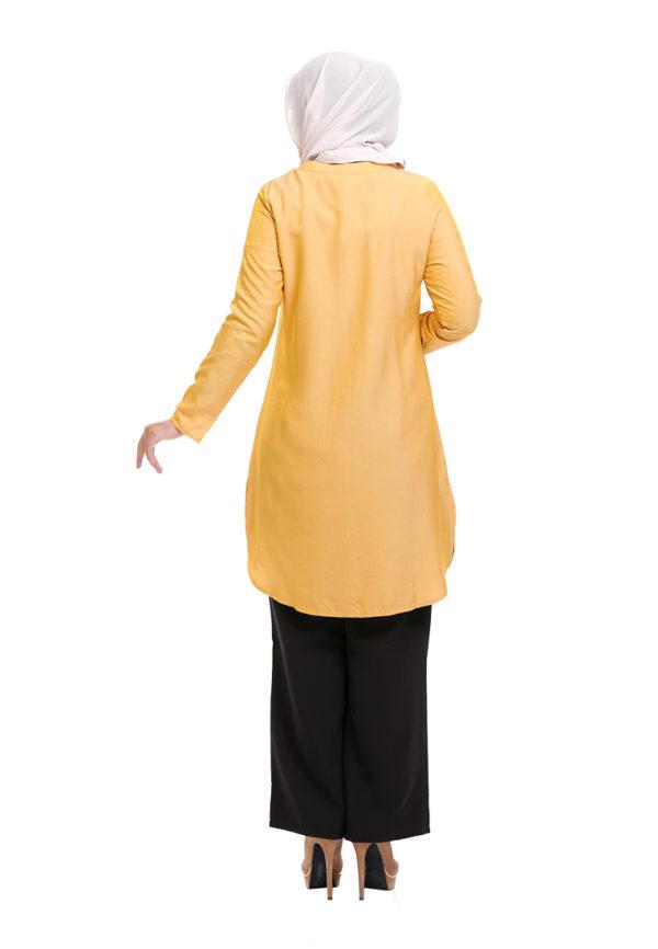 Dacla Blouse Yellow (4)