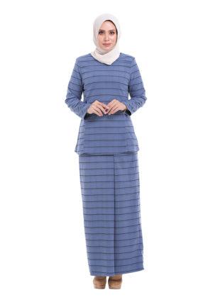 Eva Kurung Blue (1)
