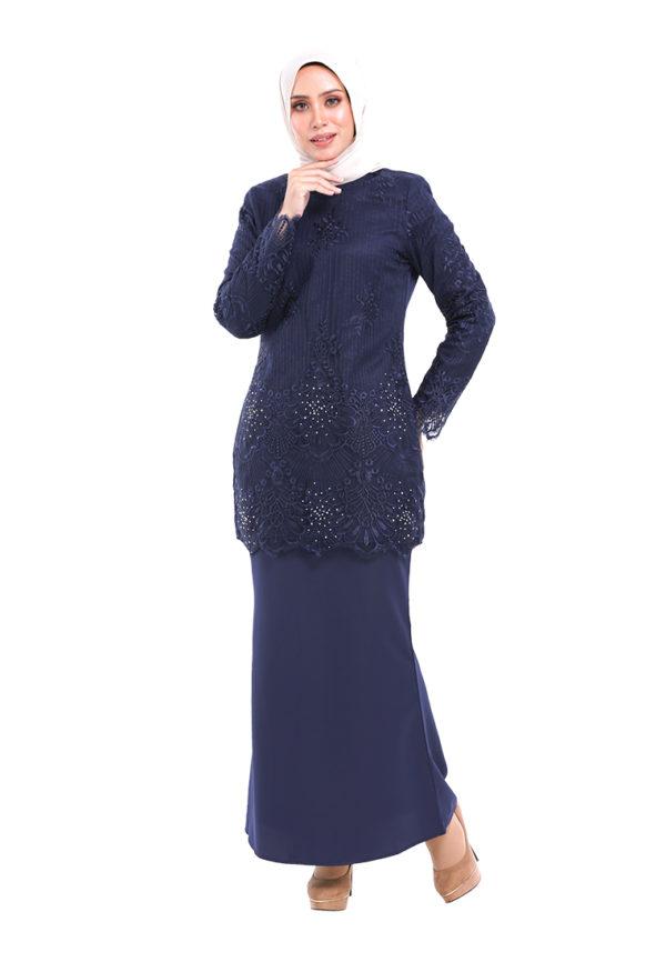 Rubee Kurung Blue (4)