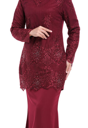 Rubee Kurung Red (2)