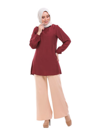 Sue Blouse Maroon 5