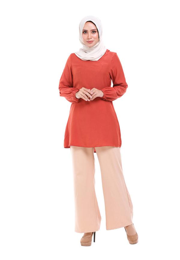 Sue Blouse Orange 1