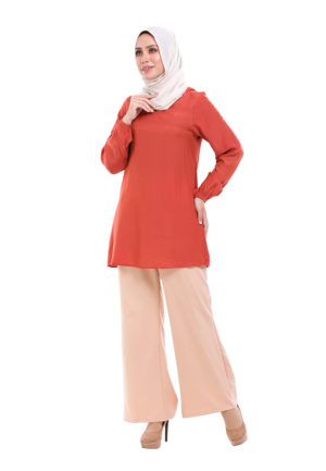 Sue Blouse Orange 2