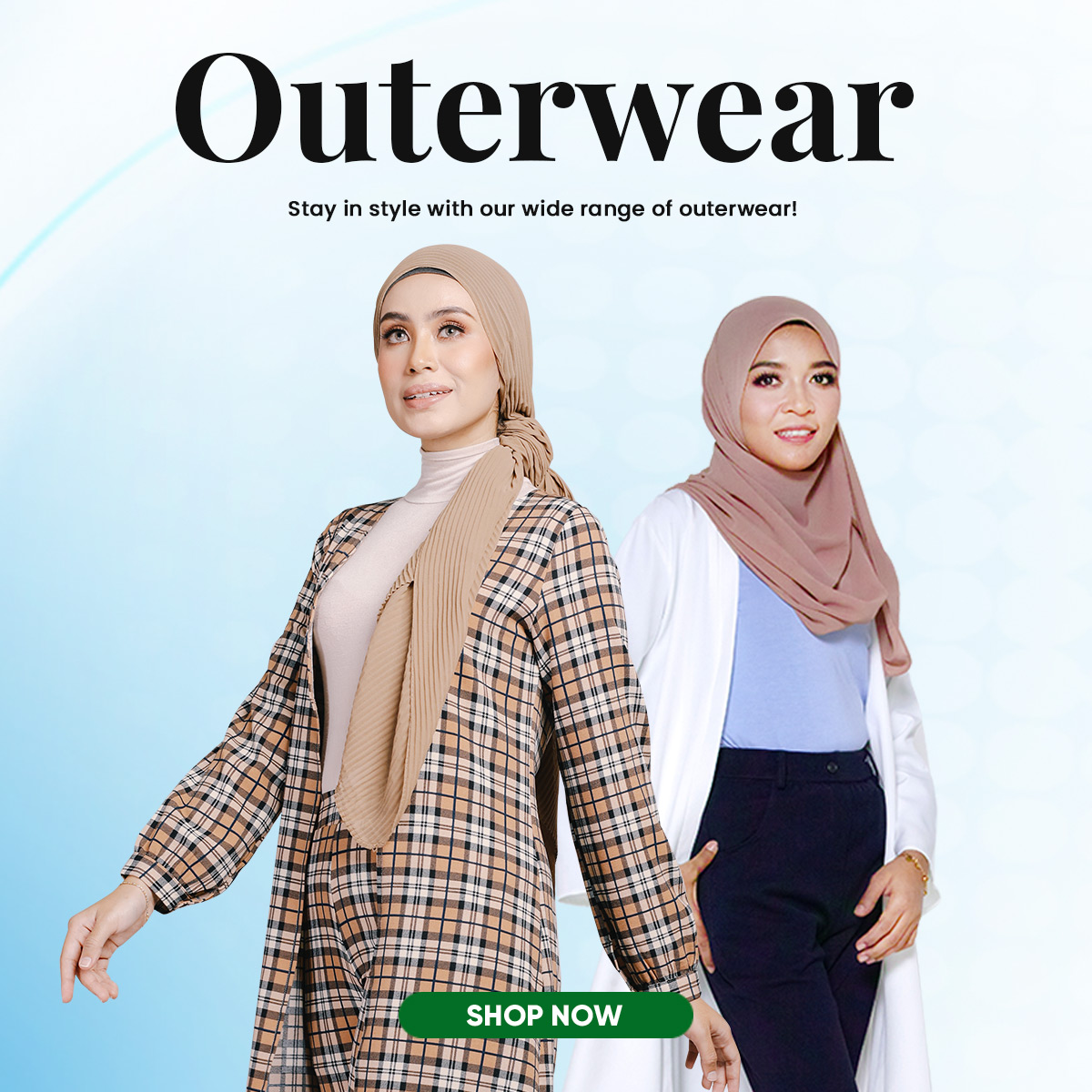 Outerwear Mobile Banner